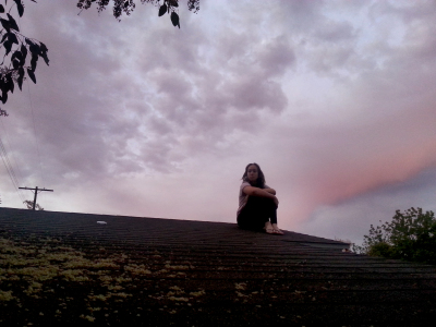 alex on the roof