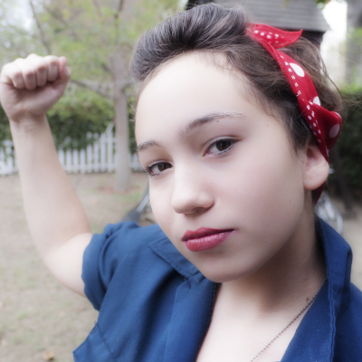 another Rosie the riveter