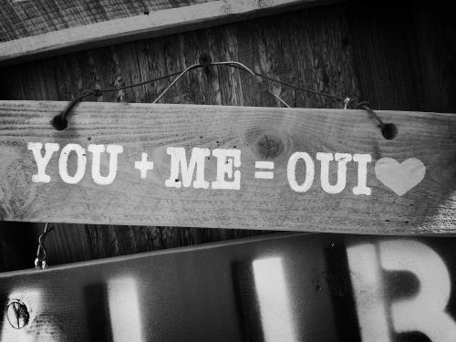 the original you+me= oui... more complicated than e=mc2