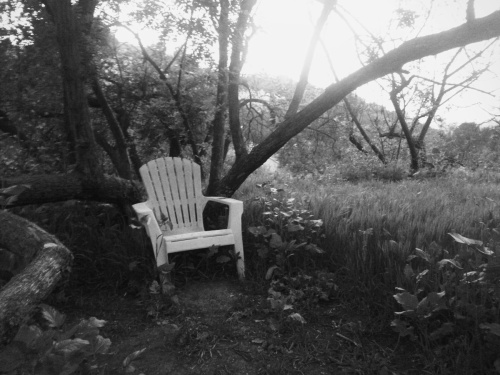 just sit with me and go for hike...even if it's dark out..and dark in