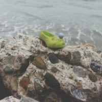 shoe, left behind