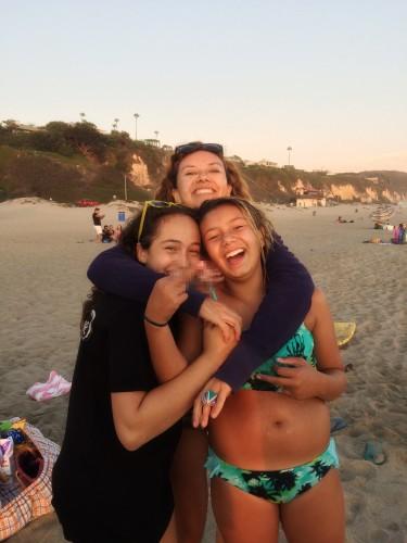 beach, dani, alex, laura foto by Sarah
