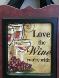 saw it at the store... love the wine you're with. :)