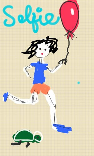 i win!  doodle lala