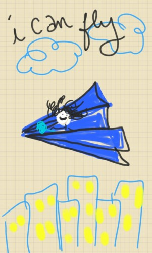 i can fly doodle lala