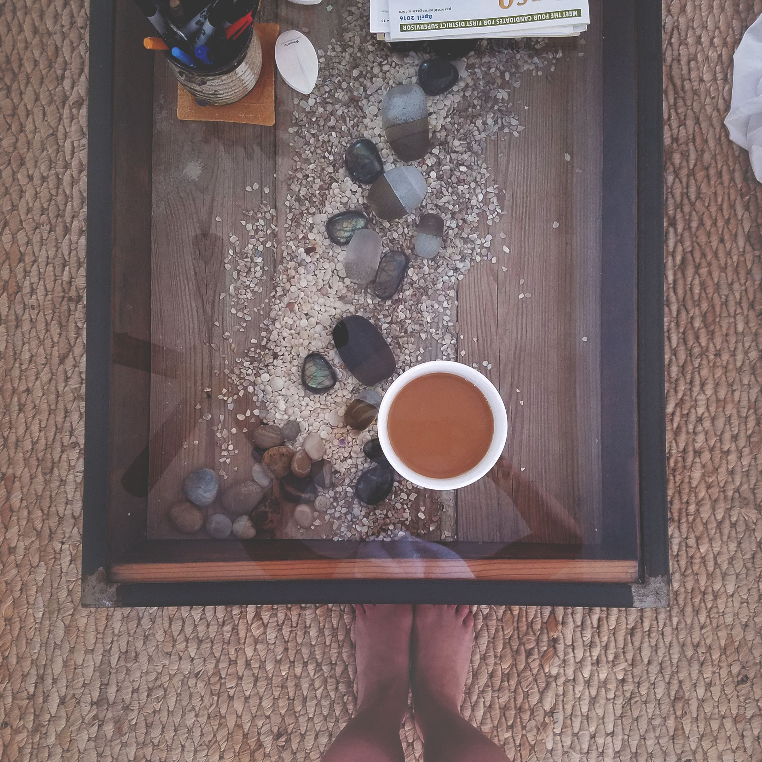 my morning coffee bowl