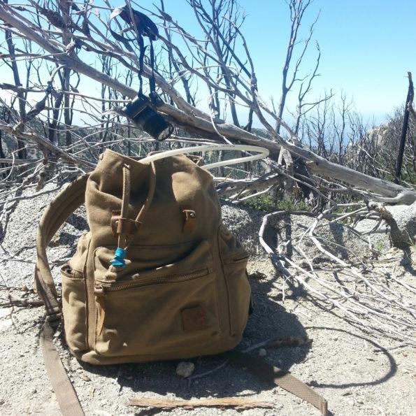 day pack near san gabriel peak